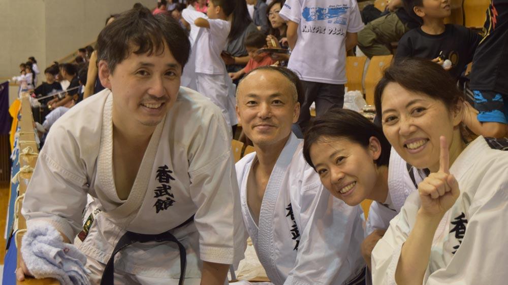 松涛連盟全国空手道選手権大会に出場しました!