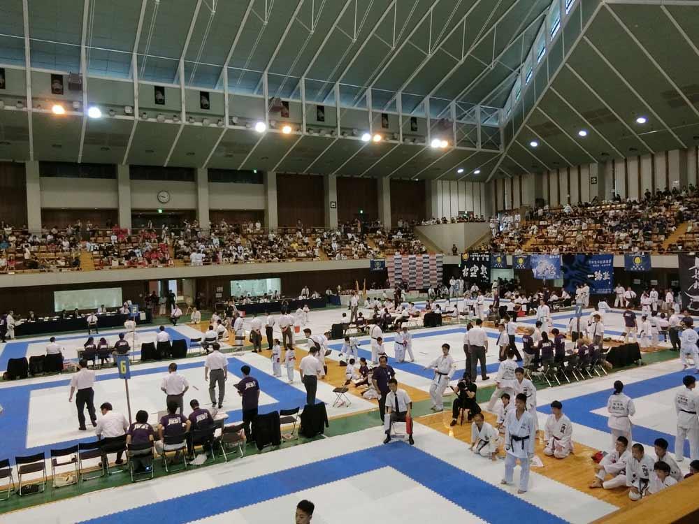 第18回松涛連盟全国空手道選手権大会「静岡県武道館」