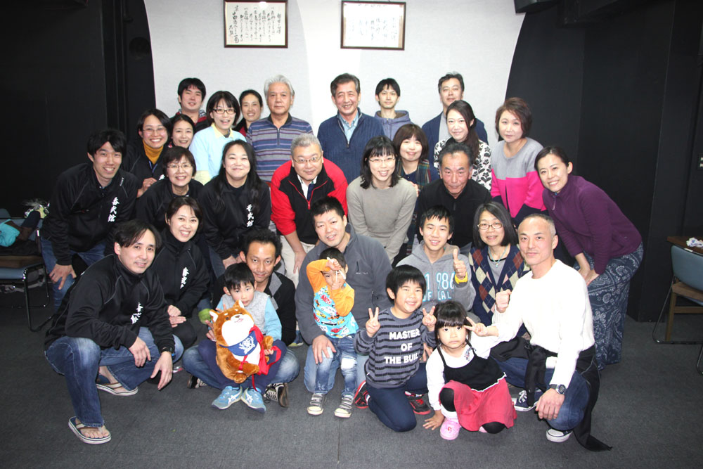香武館 生徒さんと親御さん方との懇親会
